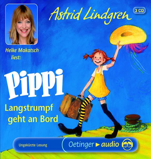 Pippi langstrumpf geht an bord