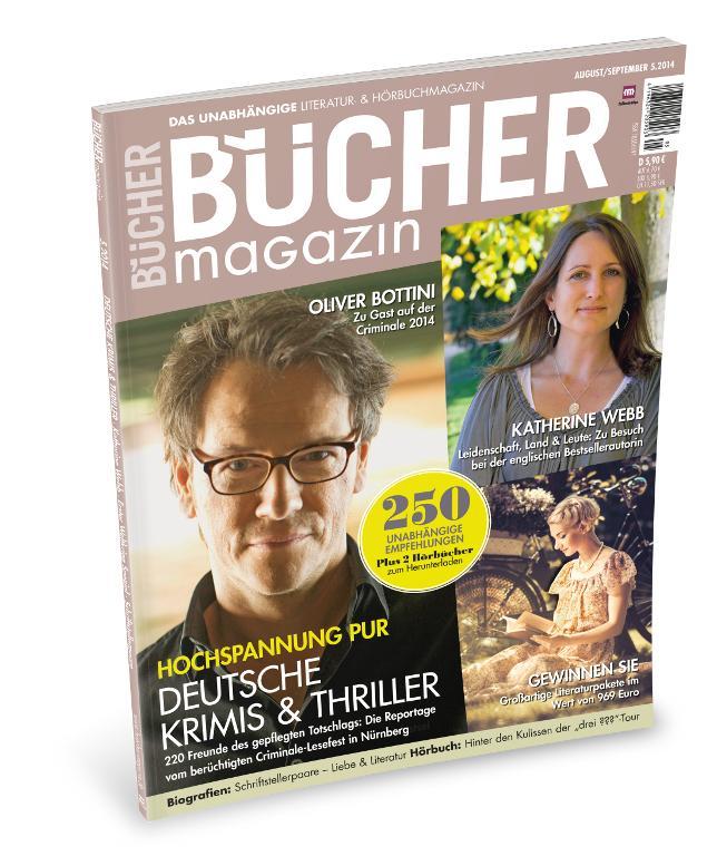 BÜCHER-Magazin September/Oktober 2014